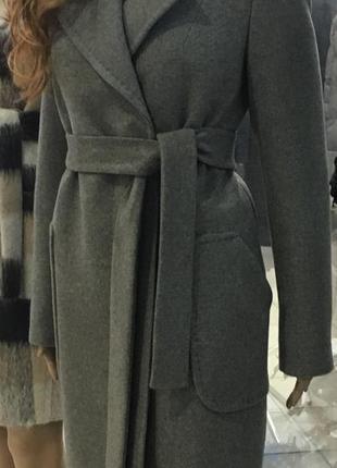 Шерстяне зимове пальто від stella polare