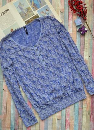Красивая блуза с резинками на рукавах colours the world