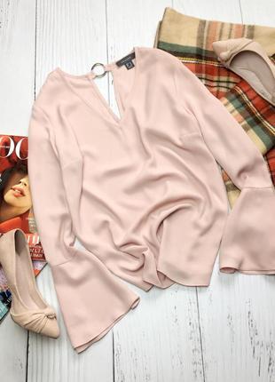 Нежная пудровая блуза primark