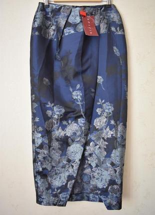 Новая красивая юбка на запах с принтом
