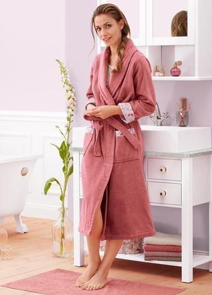 Нежный и комфортный махровый халат от tcm tchibo, германия