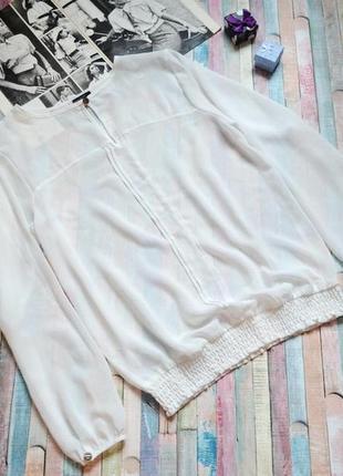 Женственная прозрачная шифоновая блуза bodyflirt