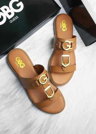 Guess оригинал коричневые сандалии бренд из сша
