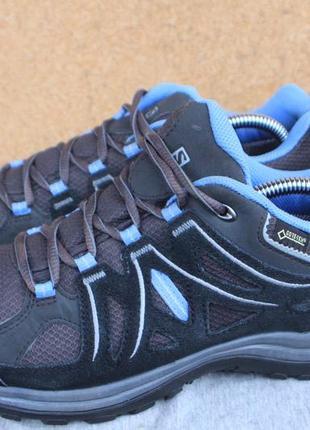 Кроссовки salomon gore-tex оригинал 39р полу ботинки непромокаемые