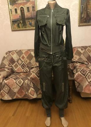 Костюм бомбер, куртка+ штаны, джоггеры спортивный стиль on line exclusive греция