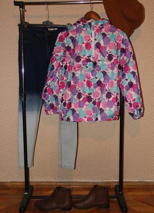 Анорак куртка с карманом