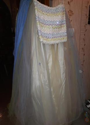 Платье фатин