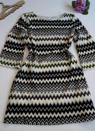 Платье 50   размер осеннее мини с рукавом новогоднее вязанное облегающее