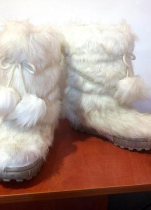 Детские меховые сапоги / угги / зимние ботинки для девочки next, р.34 код d3414
