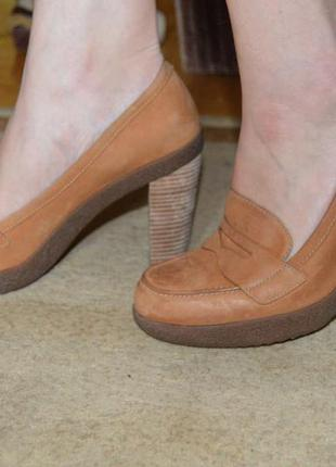 Туфлі шкіряні ecco розміри 39 40