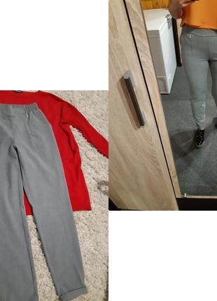 Стильные серые брюки с подворотами,vera moda, p. 10-12