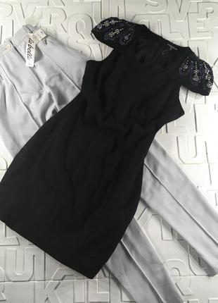 Шерстяное платье футляр warehouse