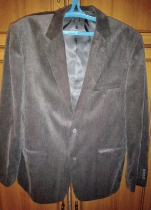 Новый мужской вельветовый пиджак 48 50 размер моя пересылка укрпочтой