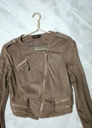 Ambika, италия, укороченный пиджак, короткая косуха, жакет