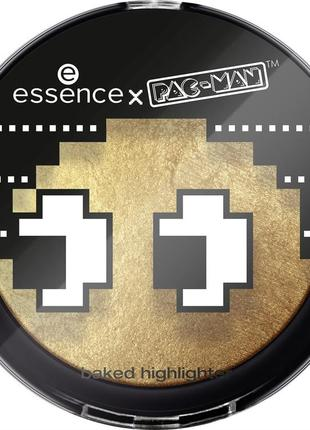 Essence x pac-man baked highlighter 01 game over