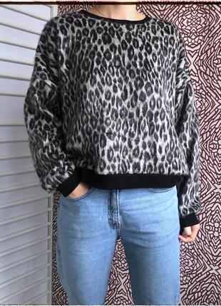 Кофта с леопардовым принтом от new look