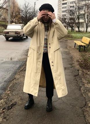 Парка трапеция 2020 тренч плащ пальто пуховик куртка тёплая длинная тренд винтаж ретро