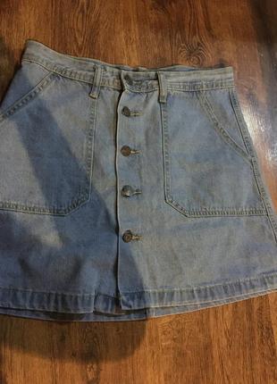 Новесенька джинсова спідничка від h&m