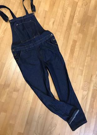Новый джинсовый комбинезон_dangaree_идет на наш 48-50-52_можно беременным