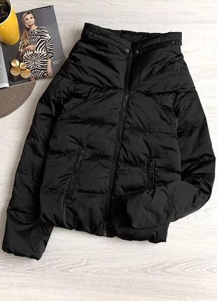 Пуховая куртка тёплая зимняя