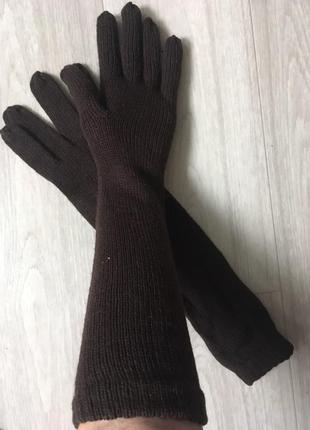 Высокие перчатки германия tchibo