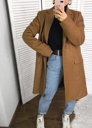 Ідеальне шерстяне пальто  zara!