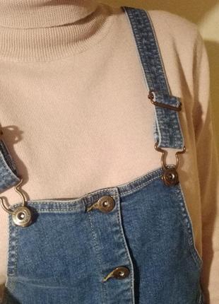 Next комбинезон джинсовый