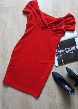 Вечернее новогоднее платье из бархата hermès by h&m