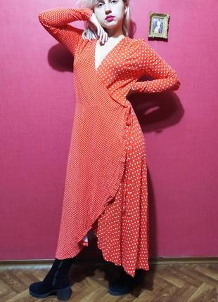 Крутое платье в горошек чудесного бренда💃