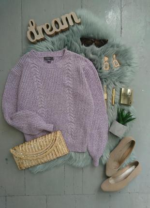 Актуальный свитер оверсайз узор косы №31max