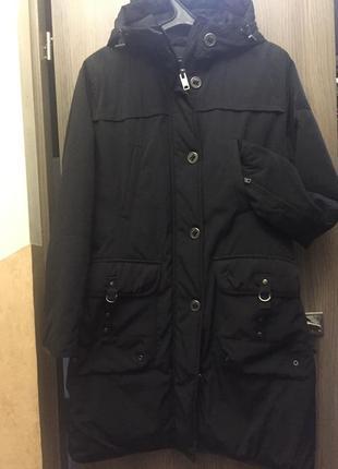 Демисезонная удлиненная куртка