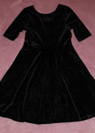Бархатное, праздничное платье для девочки candy couture, на 11-12лет