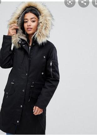 Мега стильная парка куртка от asos