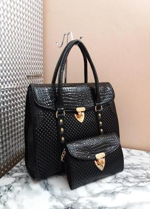 Очень классный набор, сумка и клатч