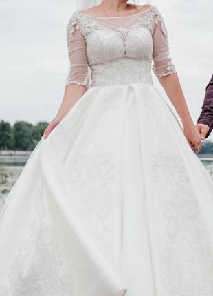 Весільне платтячко