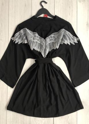 Женский халат с крыльями