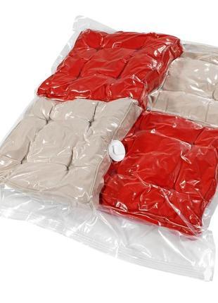 Вакуумный пакет для одежды 70x100см