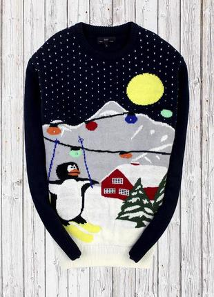 Новогодний свитер easy