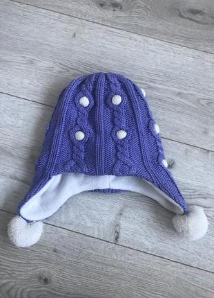 Зимняя шапка lenne 5-7 лет