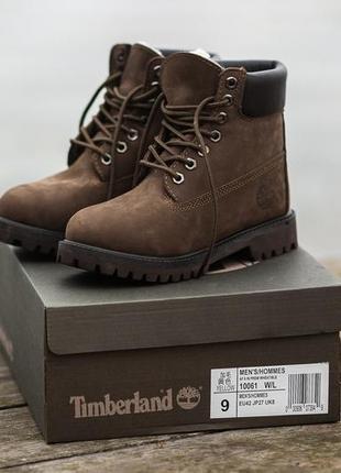 💥шикарние женские ❄зимние ботинки timberland с мехом