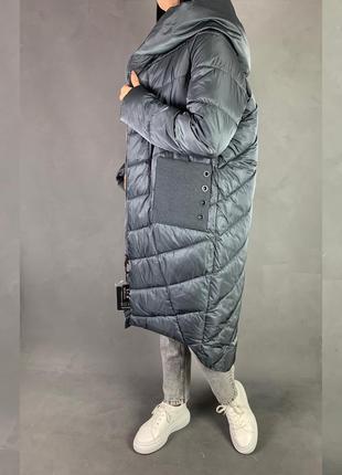 Пуховик одеяло кокон объёмная куртка на магнитах оверсайз есть отзывы!🔥
