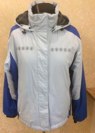 Куртка горнолыжная голубая