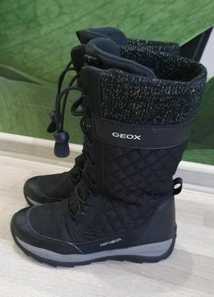 Сапоги для девочки geox amphibiox