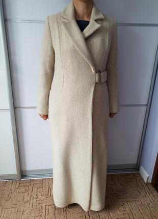 Класическое шерстяное пальто зима