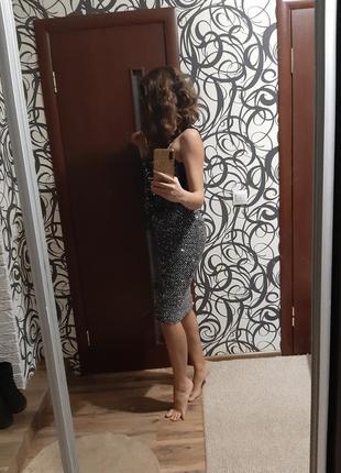 Юбка паетка платье на новий год