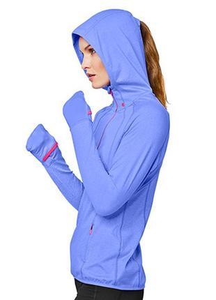 Термо кофта с капюшоном для занятий спортом active running