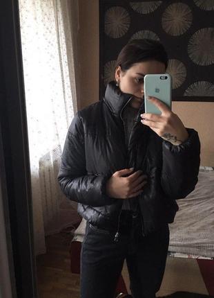 Вкорочена курточка дутік rision s/m