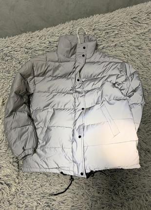 Куртка рефлективная светоотражающая серая