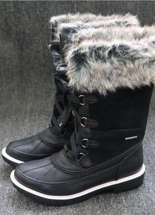 Зимние очень теплые ботинки/угги/сапоги river island(до -30 градусов