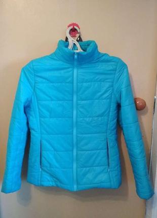 Куртка женская утепленная короткая зима осень